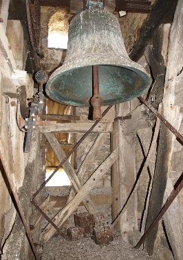 Salle des cloches, Vinneuf, église, patrimoine