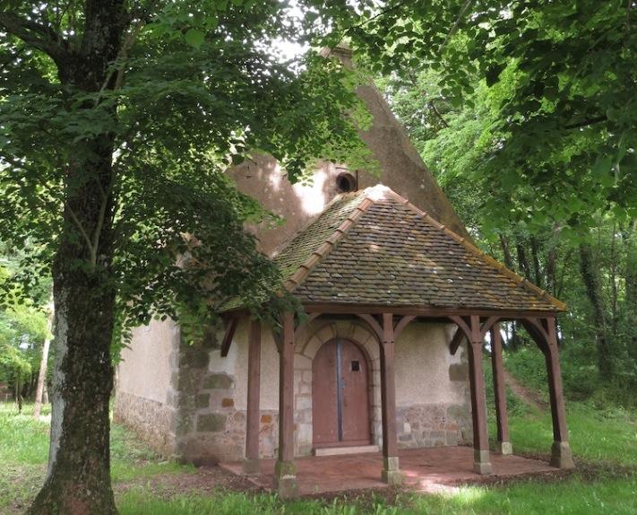 Chapelle de Champ-Rond, romantique, Vinneuf, Patrimoine, sauvegarde, pèlerinage