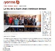 Le feu de la Saint-Jean, bénéfices reversés à l'association Vinneuf . les Amis du Patrimoine pour la sauvegarde de l'église