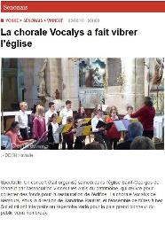 Nouveau Président des Amis du Patrimoine, Vinneuf, Yonne Républicaine, programme de mécénat et récolte de fonds pour la restauration de l'église de Vinneuf, yonne